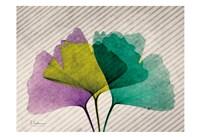 SoHo Diagonal Ginkos Fine Art Print
