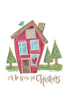 Home for Christmas Fine Art Print