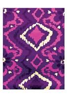 "Pink & Purple Pattern by Jace Grey - 13"" x 19"""