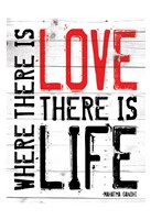 "Love Life - Red by Jace Grey - 13"" x 19"""