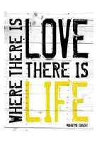 "Love Life - Yellow by Jace Grey - 13"" x 19"""
