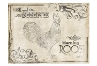 """Rise and Shine Cream (horizontal) by Jace Grey - 19"""" x 13"""""""