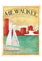 Milwaukee Cover Framed Print
