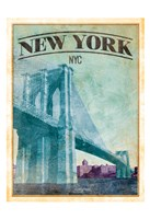 New York Cover Framed Print