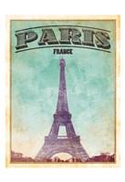 Paris Cover Framed Print