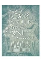 "Waves by Jace Grey - 13"" x 19"", FulcrumGallery.com brand"