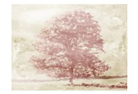 "Marsala Tree by Jace Grey - 19"" x 13"""
