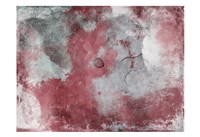 "Abstract Marsala Grey by Jace Grey - 19"" x 13"""