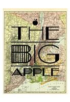 "The Big Apple - NY by Jace Grey - 13"" x 19"""