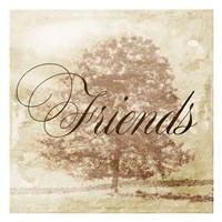 Friends Tree Fine Art Print