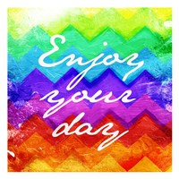 """Enjoy Your Day by Jace Grey - 13"""" x 13"""""""