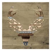 """13"""" x 13"""" Deer Art"""