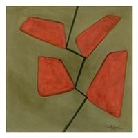 "Trapezoids 1 by Umang - 13"" x 13"""