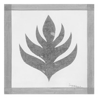 """Pewter Fire I by Umang - 13"""" x 13"""""""