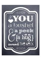 "Bushel & Peck 2 by Melody Hogan - 13"" x 19"""