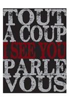 """Oui Oui Typography 03 by Melody Hogan - 13"""" x 19"""""""