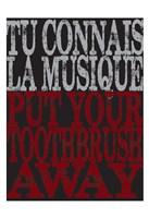 """Oui Oui Typography 04 by Melody Hogan - 13"""" x 19"""""""