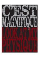"""Oui Oui Typography 06 by Melody Hogan - 13"""" x 19"""""""