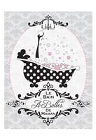 """Mommy's Bubble Bath 03 by Melody Hogan - 13"""" x 19"""""""