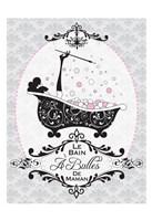 """Mommy's Bubble Bath 02 by Melody Hogan - 13"""" x 19"""""""