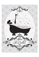 """Mommy's Bubble Bath 06 by Melody Hogan - 13"""" x 19"""""""