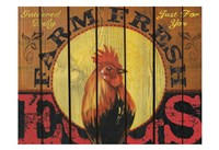 """Rooster Time by Melody Hogan - 19"""" x 13"""""""