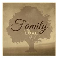 "Family Love by Melody Hogan - 13"" x 13"""