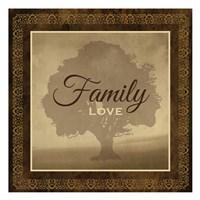 "Family by Melody Hogan - 13"" x 13"""