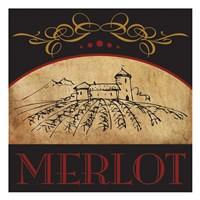 """Vinyard Wine 1 by Melody Hogan - 13"""" x 13"""" - $12.99"""
