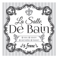 French Bath Set 02 Fine Art Print