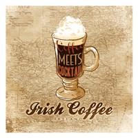 """Irish Coffee by OnRei - 13"""" x 13"""""""