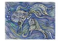 Aqua Life 2 Fine Art Print