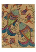 Fish Tapestry Fine Art Print