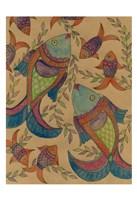 "Fish Tapestry by Pam Varacek - 13"" x 19"""