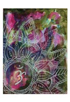 Radiant Ohm Framed Print