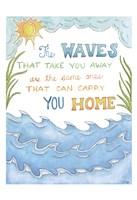 "The Waves by Pam Varacek - 13"" x 19"", FulcrumGallery.com brand"