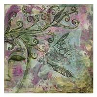 "Listen to The Whispers by Pam Varacek - 13"" x 13"", FulcrumGallery.com brand"