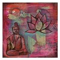 Buddha Lotus Fine Art Print