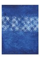 Cobalt Circles Fine Art Print