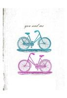 "Country Side Biking by Sheldon Lewis - 13"" x 19"""