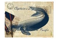 Old Time Nautical Fine Art Print