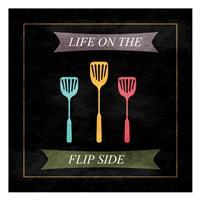 "The Flip Side by Sheldon Lewis - 13"" x 13"""