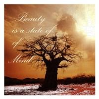 "Beauty beyond beauty by Sheldon Lewis - 13"" x 13"""