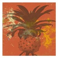 "Orange Pine by Sheldon Lewis - 13"" x 13"""
