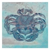 """Saltwater Crab by Sheldon Lewis - 13"""" x 13"""""""