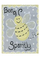 Bee Sparkly Fine Art Print