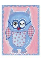 Blue Owl Fine Art Print