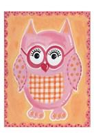 Pink Owl Fine Art Print