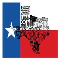 """Texas Flag by Jace Grey - 19"""" x 13"""""""