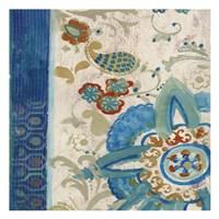 """Juxta Peacock 2 by Smith-Haynes - 13"""" x 13"""", FulcrumGallery.com brand"""